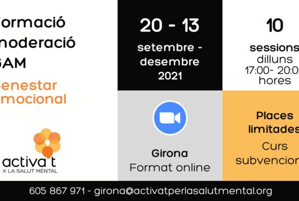 Cartell gam Girona 2021
